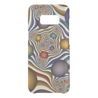 Flying Up, Colorful, Modern, Abstract Fractal Art Uncommon Samsung Galaxy S8 Case