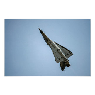 Flying Upward / ROCAF Fighter Jet Aircraft Poster