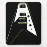 Flying V Electric Guitar Mouse Pad