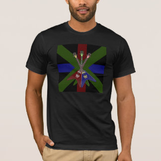 Flying V Guitar Shredder T-Shirt