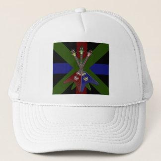 Flying V Guitar Shredder Trucker Hat