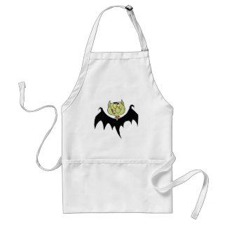 Flying Vampire Adult Apron