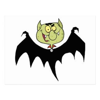 Flying Vampire Postcard