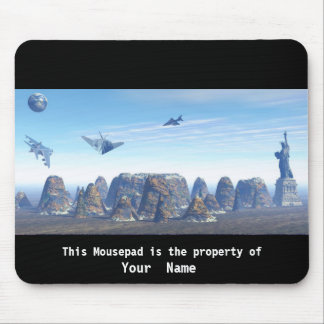 Flying Where? Mousepad Mouse Pad