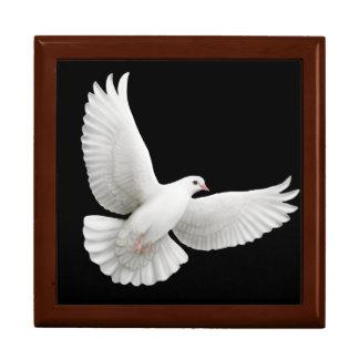 Flying White Dove Gift Box