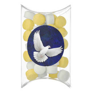 Flying White Peace Dove Gum Party Favors