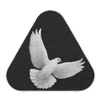 Flying White Peace Dove Pieladium Speakers