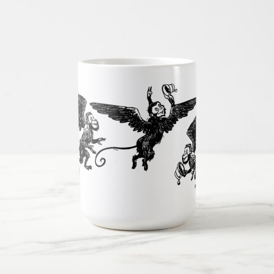 dc205ba68 Flying Winged Monkey Mug Wizard of Oz cup | Zazzle.com