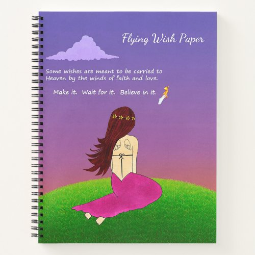 Flying Wish Paper Notebook