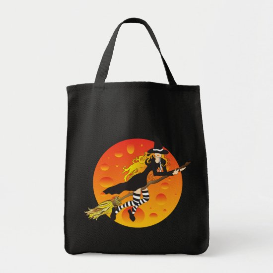 flying witch_2 tote bag