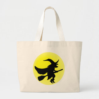 Flying Witch Canvas Bag