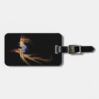 Flying Witch Fractal peeping fee day Luggage Tag