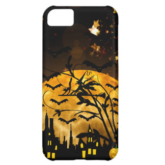 Flying Witch Harvest Moon Bats Halloween Gifts iPhone 5C Cover