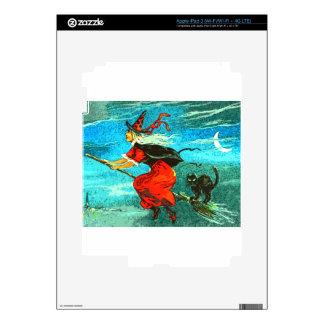 Flying Witch iPad 3 Skin