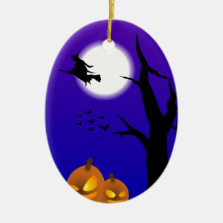 Flying Witch Series Christmas Ornament