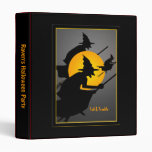 Flying Witches Halloween Party Photo album Binder