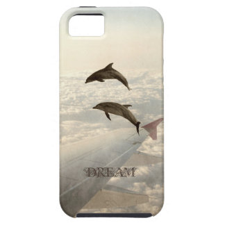Flying with Dolphins iPhone SE/5/5s Case