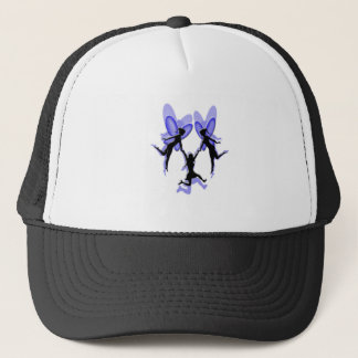 flying with fairies trucker hat