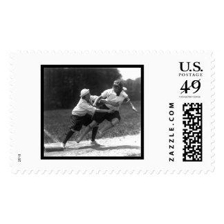 Flying Women Baseball 1925 Stamp