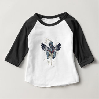 flying zombie with wings baby T-Shirt