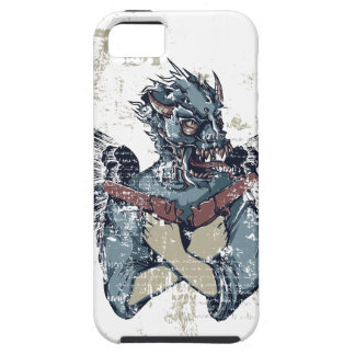 flying zombie with wings iPhone SE/5/5s case