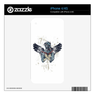 flying zombie with wings skin for the iPhone 4S