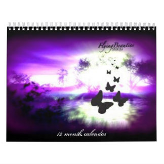 FlyingBeauties calendar, 2009 Calendar