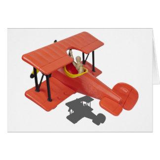 FlyingBiPlane110510 Greeting Card
