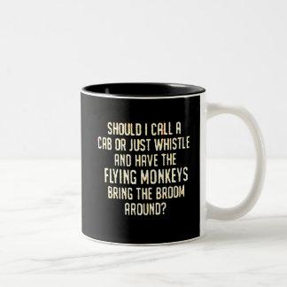 flyingmonkeyswhistle coffee mugs