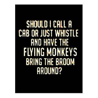 flyingmonkeyswhistle postcard
