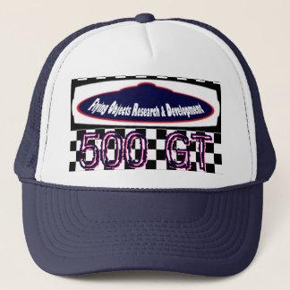 FlyingObjectsResearchAndDevelopment.com 500 GT Trucker Hat