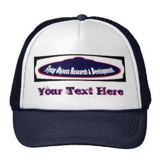 FlyingObjectsResearchAndDevelopment.com Racin Team Trucker Hat