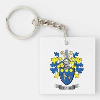 Flynn Coat of Arms Keychain