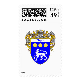 Flynn Coat of Arms (Mantled) Stamps
