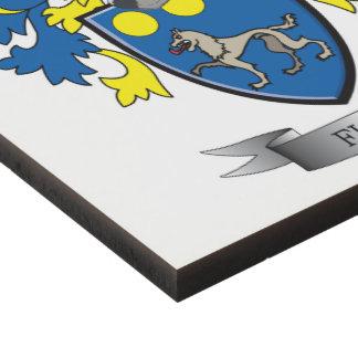 Flynn Coat of Arms Panel Wall Art