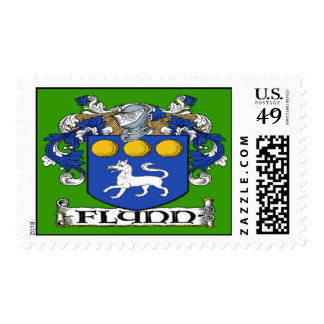 Flynn Coat of Arms Postage Stamps