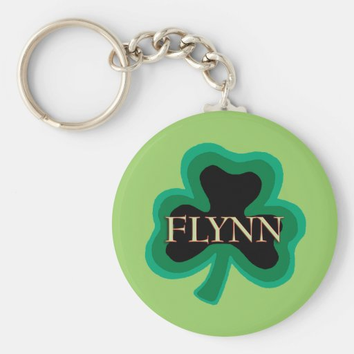 Flynn Family Keychain