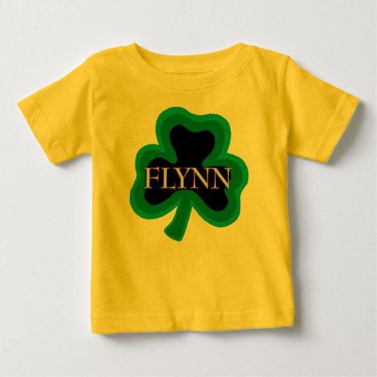 Flynn Family Name Baby T-Shirt