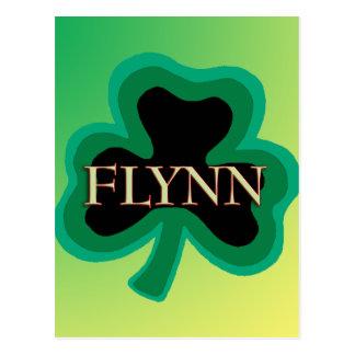 Flynn Family Name Postcards