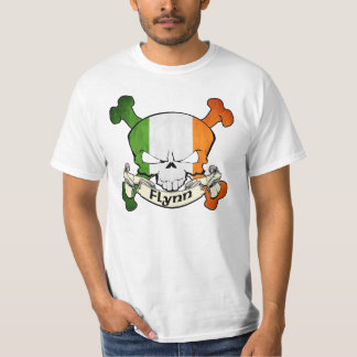 Flynn Irish Skull T-Shirt