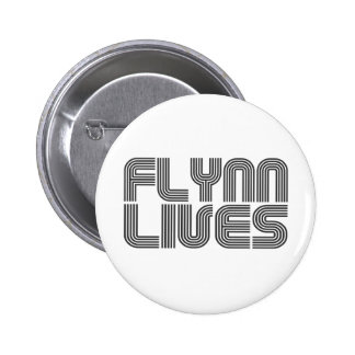 Flynn Lives Pinback Button