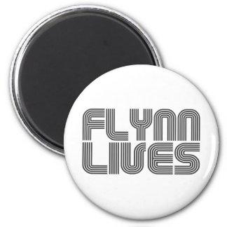 Flynn Lives Refrigerator Magnets