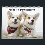 """Flynn &amp; Mugen&#39;s Year of Pawsitivity Calendar<br><div class=""""desc"""">A 12 month corgi calendar featuring Mugen &amp; Flynn, Pembroke Welsh corgis. Adorable brothers with a little bit of sass and a whole lot of class. January: Corg in the Hat February: Valencorg's Day March: Lobster Corgis April: Birthday Corgs May: Corgi De Mayo June: Summer Lovin' Corgis July: Star Spangled...</div>"""
