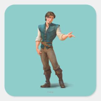 Flynn Square Sticker