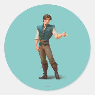 Flynn Round Stickers