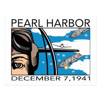 Flyover Pearl Harbor Postcard