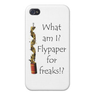 Flypaper for Freaks iPhone 4 Cases