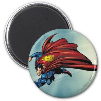 Flys del superhombre con el cabo imán redondo 5 cm