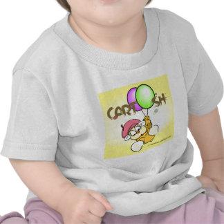 flys giggleCubby de amarillo Camiseta