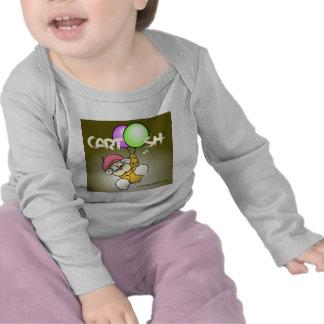 flys giggleCubby de marrón verdoso Camisetas